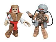 Marvel Minimates Wave 23 2 inch Action Figure - Weapon X and Lady Deathstrike 9SIA3G66KP3399