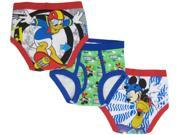 Disney Boys' Mickey Mouse 3 Pack Underwear - Toddler 4T 9SIA3G66N08493