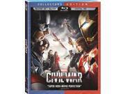 Marvel's Captain America: Civil War Collector's Edition 2 Disc 3D Blu-Ray 9SIAA765804989