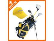 Paragon Rising Star Junior Kids Golf Club Set (Ages 5-7) Yellow RIGHT Hand