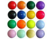 Kids Color Golf Balls - 1 dozen Floater - NEON Pink