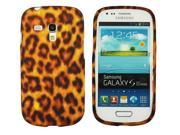 Kit Me Out US IMD TPU Gel Case + Screen Protector with MicroFibre Cleaning Cloth for Samsung Galaxy S3 Mini i8190 (NOT FOR S3) - Brown Leopard