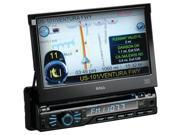 "BOSS AUDIO BV9980NV 7"" Single-DIN In-Dash DVD Receiver with Navigation & Bluetoo"