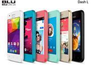 BLU Dash L Unlocked Smartphone - Global GSM - Black D050L