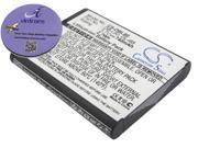 740mAh Battery For Sanyo Xacti VPC-CS1, Xacti VPC-CG100