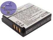 vintrons Replacement Battery For PANASONIC Lumix DMC-LX3EF-K