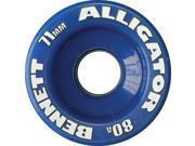 ALLIGATOR Wheels 71mm 80a BLUE Skateboard Wheels