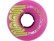 METRO MICRO MOTION 63mm 97a PURPLE Skateboard Wheels