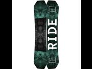 Ride 17 Helix Snowboard Black 162w
