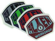 ALIEN WORKSHOP OG LOGO 25 PACK DECAL STICKERS assorted
