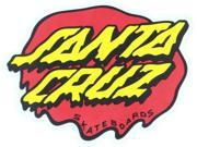 SANTA CRUZ SLIME DOT 3.5 x3.12 DECAL STICKER RED YEL BLK