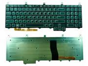 WIFEB Laptop Keyboard with LED Backlight for DELL Alienware M17X US Keyboard