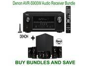 Denon AVR-S900W 7.2-Channel Network A/V Receiver with Bluetooth and Wi-Fi + Klipsch HDT-600 Home Theater System