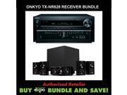 Onkyo TX-NR828 7.2-Channel Wireless Network A/V Receiver, Plus Klipsch HDT-600