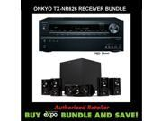 Onkyo TX-NR626 5.2-Channel Network Audio/Video Receiver, Plus Klipsch HDT-600 Home Theater Speaker System
