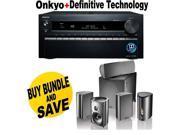 ONKTXNR1030BND3 Onkyo TX-NR1030 9.2-Ch Dolby Atmos Ready Network A/V Receiver  + Speakers Bundle