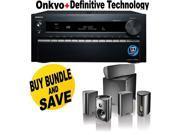 ONKTXNR1030BND4 Onkyo TX-NR1030 9.2-Ch Dolby Atmos Ready Network A/V Receiver  + Speakers Bundle