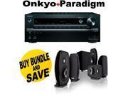 ONKTXNR747BND6 Onkyo TX-NR747 7.2-Channel Network A/V Receiver + Paradigm Cine + Speakers Bundle