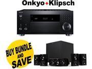 ONKTXRZ800BND4 Onkyo TX-RZ800 7.2-Channel Network A/V Receiver + Klipsch HDT-6 + Speakers Bundle