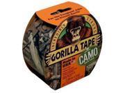 "Gorilla Glue 6010901 Camo Gorilla Tape 9 yd 1-7/8"" Width"