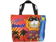 Garfield Life's a Beach Polyester Tote Bag