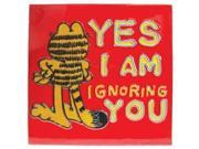 "Garfield ""Yes I Am Ignoring You"" Ceramic Tile"
