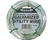 Guard Tools 35120 1 LB 20 Gauge Galvanized Utility Wire