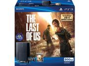 Sony PlayStation 3 500GB The Last of Us Bundle