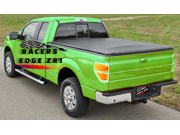 RacersEdgeZR1 2009-2013 Dodge Ram 1500 2010-2013 2500 3500 6.5' Bed Hidden Snap-on Soft Roll-up Tonneau Cover RE321 9SIA3N556J4243