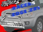 RacersEdgeZR1 2007-2009 Chevrolet Silverado GMC Sierra 1500 Stainless Steel 201 Bull Bar Chrome RE7012