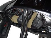3D MAXpider 2012-2016 Honda CR-V Kagu Carbon Fiber Embossed Pattern 1ST ROW 2ND ROW Floor Mat Tan L1HD04301502