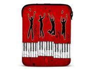Dancing Dancers Neoprene Tablet Sleeve Case for 10