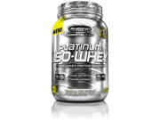 MuscleTech Platinum 100% ISO Whey Supplement, Vanilla Ice Cream, 1.76 Pound