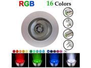 XCSOURCE® 16 Color Changing RGB LED Spot Magic Light Top Bulb Lamp MR16 3W IR Remote LD233