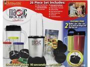 Magic Bullet Blender Set Deluxe 26 piece Blender Mixer NEW Food Chopper