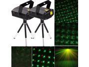 2 X R&G Laser Projector Stage Lighting Lights Adjustment DJ KTV Voice-activated