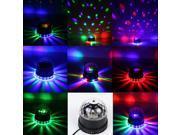 LED RGB Party Disco Club KTV DJ Light Crystal Magic Ball Effect Stage Lighting