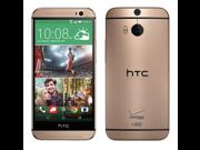HTC One M8 Verizon - 4G LTE - 32GB - Amber Gold - Factory Unlocked - Bulk Packaging
