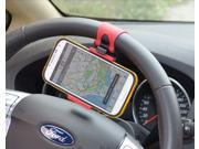 2 PCS Car Steering Wheel Extendable Mount Holder for Cellphone, GPS, MP4 Player