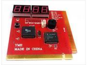 4-Digit Code PC POST Diagnostic Test Card Motherboard Analyzer for PCI/ISA Slots