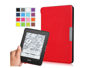 "Kindle Paperwhite Case - Ultra Lightweight Shell Case for Amazon All-New Kindle Paperwhite (Both 2012 and 2013 versions with 6"" Display and Built-in Light),  RED (Slim Shell Cover for Paperwhite)"