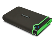 Transcend 750 GB 2.5-Inch USB 3.0 Military-Grade Shock Resistance Portable External Hard Drive for Mac and PC TS750GSJ25M3