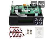 1-2-3-4-5 Blu-ray CD/ DVD/ BD SATA Duplicator Copier CONTROLLER + Cables, Screws & Manual 9SIA3V637V6225