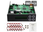 1-9-10-11 Blu-ray CD/ DVD/ BD SATA Duplicator Copier CONTROLLER + Cables, Screws & Manual 9SIA3V637X8991