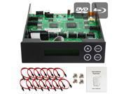 1-9-10-11 Blu-ray CD/ DVD/ BD SATA Duplicator Copier CONTROLLER + Cables, Screws & Manual 9SIA3V637X8991