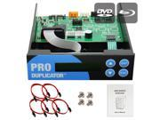 Produplicator 1-2-3 Blu-ray CD/ DVD/ BD SATA Duplicator Copier CONTROLLER + Cables, Screws & Manual 9SIA3V637Y1142