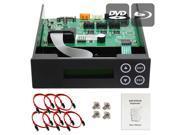 Produplicator 1-2-3-4-5 Blu-ray CD/ DVD/ BD SATA Duplicator Copier CONTROLLER + Cables, Screws & Manual 9SIA3V637Y7884