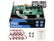Produplicator 1-2-3-4-5-6-7 Blu-ray CD/ DVD/ BD SATA Duplicator Copier CONTROLLER + Cables, Screws & Manual 9SIA3V637Y8253