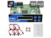 Produplicator 1-2-3-4-5 Lightscribe Blu-ray BD/ DVD/ CD SATA Duplicator Copier CONTROLLER + Cables, Screws & Manual 9SIA3V63884159