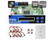 Produplicator 1-2-3-4-5-6-7 Lightscribe Blu-ray BD/ DVD/ CD SATA Duplicator Copier CONTROLLER + Cables, Screws & Manual 9SIA3V63885500